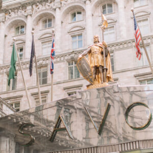 Three-Course Lunch with Champagne for Two at Gordon Ramsay's Savoy Grill, London