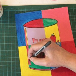 3 Andy Warhol art lessons for beginners. Learn about Pop Art