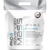 PhD Advanced Mass - 2.7kg-Chocolate Peanut Gain Supplement Nutrition