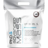 PhD Advanced Mass - 2.7kg-Vanilla Gain Supplement Nutrition