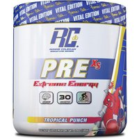 Pre-XS Extreme Energy Pre-Workout (30 serv)-Tropical Punch Bodybuilding Warehouse Ronnie Coleman