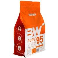 Pure Whey 95 Isolate Protein Powder - Italian Vanilla Milkshake 2kg Bodybuilding Warehouse