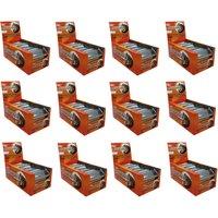 Premium Protein Flapjacks x 12 Boxes (1 Case)-Toffee Apple Bodybuilding Warehouse
