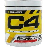 *Short Dated* C4 ORIGINAL - 60 Servings 390g-Fruit Punch (BBE 12/20) Bodybuilding Warehouse Cellucor