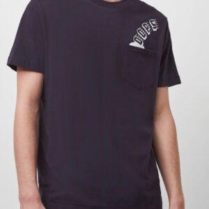 Oops Pocket T-Shirt - indigo