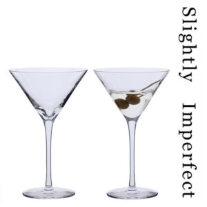 Bar Excellence Martini Glasses - Slightly Imperfect | Set of 2