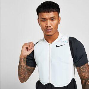 Nike Precool Running Vest - White - Mens