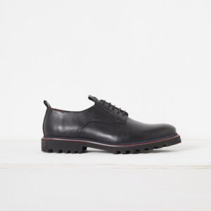 Lando Derby Shoe - black/crushed cherry/utility blue