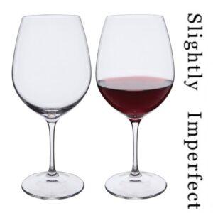 Wine Master Burgundy Wine Glasses - Slightly Imperfect