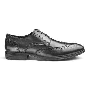 Soleform Leather Brogues Standard Fit